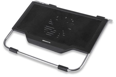 "Manhattan Hladilnik/podstavek za prenosnik do 43,9(17,3"") 5, 1x 120mm vent., 2x USB2.0"