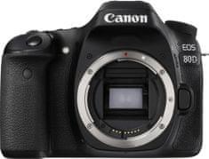 Canon EOS 80D Body + Cashback 2500 Kč! + 500 Kč na fotoslužby