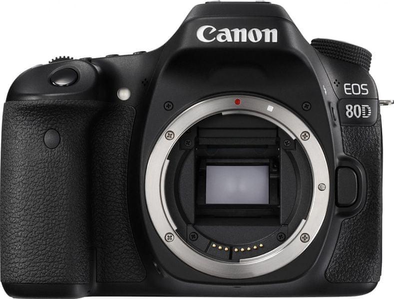 Canon EOS 80D Body + 3000 Kč od Canonu zpět
