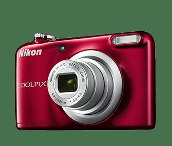 Nikon Nikon Coolpix A10 Kit, rdeč