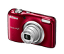 4 - Nikon Nikon Coolpix A10 Kit, rdeč
