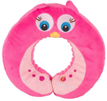 LittleLife Neck Pillow - Owl