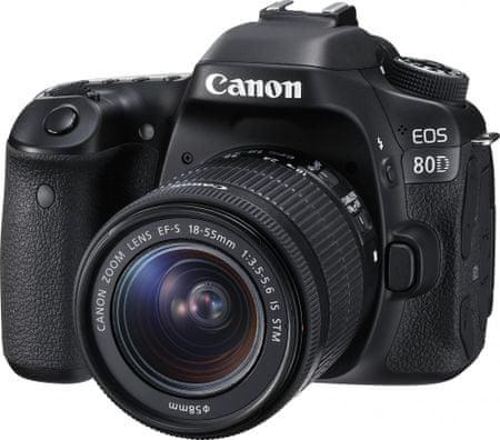 CANON EOS 80D + 18-55 IS STM Tükörreflexes Fényképezőgép