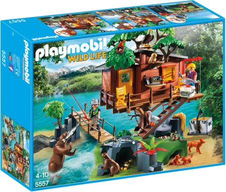 Playmobil Przygoda z domkiem na drzewie 5557
