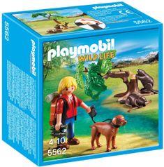 Playmobil 5562 Prírodovedec s bobrami