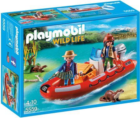 Playmobil napihljivi čoln z raziskovalcema 5559
