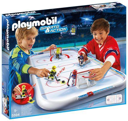 Playmobil 5594 Stolný ľadový hokej