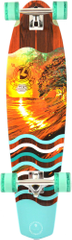 Kryptonics longboard Sunset Tube 38""