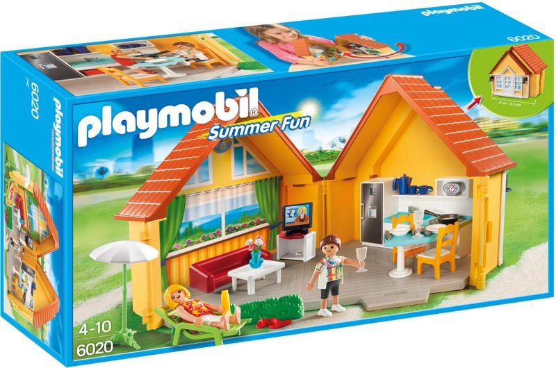 Playmobil 6020 Zavírací box - Rekreační dům
