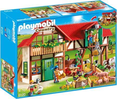 Playmobil velika kmetija 6120