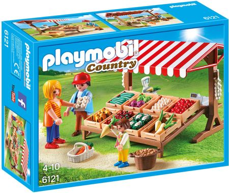 Playmobil stojnica z zelenjavo 6121