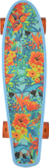 "Kryptonics deskorolka Torpedo 22,5"" Light Blue Floral"