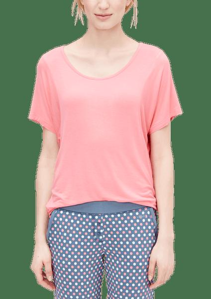 s.Oliver dámské tričko na spaní 36 růžová