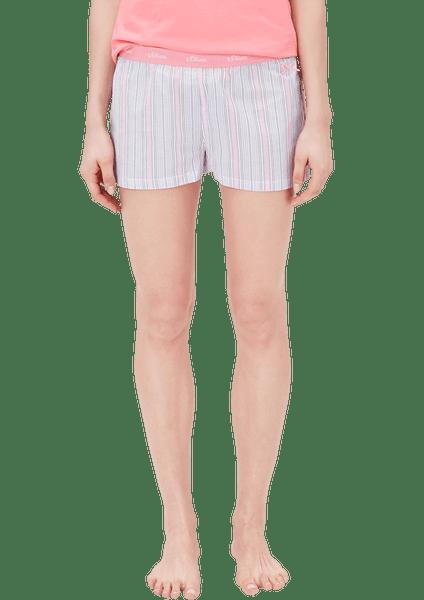 s.Oliver dámské kraťasy na spaní 42 vícebarevná