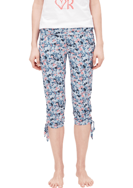 s.Oliver dámské 3/4 kalhoty na spaní 42 modrá