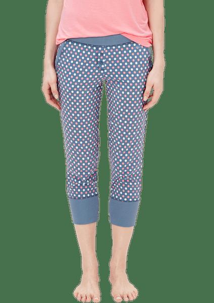 s.Oliver dámské 3/4 kalhoty na spaní 44 modrá