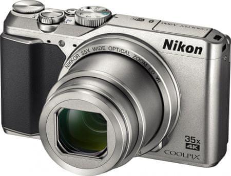 Nikon digitalni fotoaparat Coolpix A900, srebrn