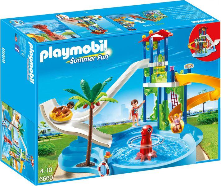 Playmobil 6669 Aquapark s tobogány