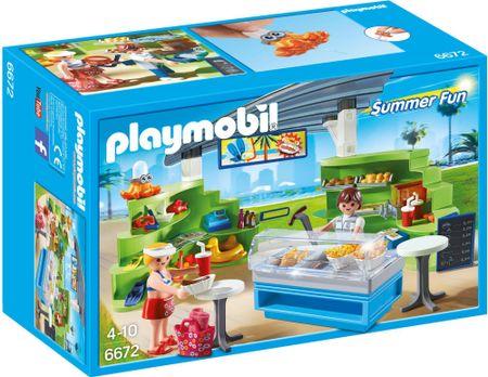 Playmobil trgovina s prigrizki 6672