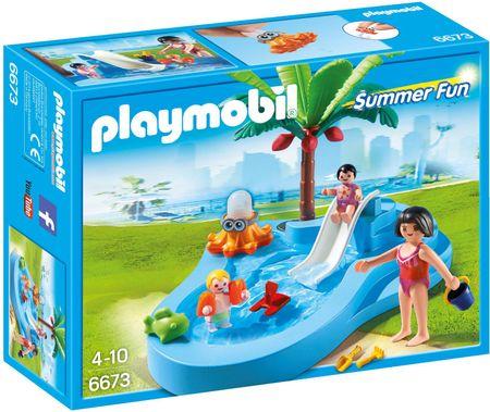 Playmobil 6673 Dječji bazen s toboganom