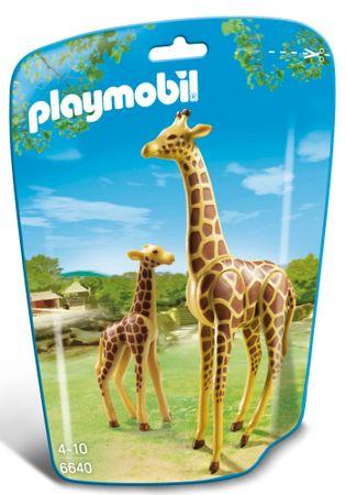 Playmobil žirafa z mladičem 6640