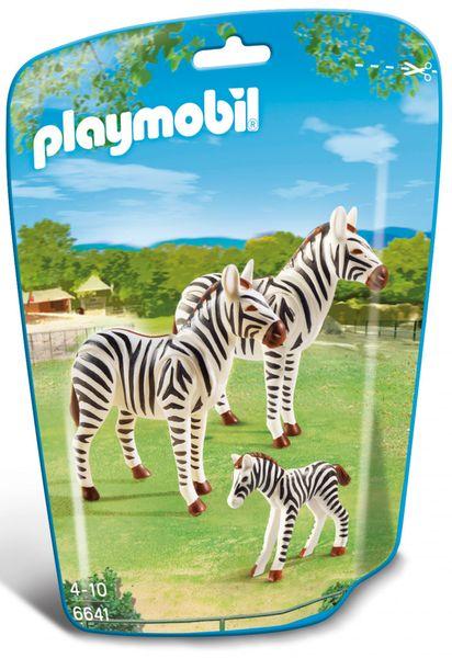 Playmobil 6641 Zebří rodinka