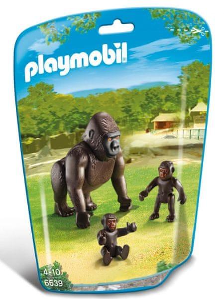 Playmobil 6639 Gorila s mláďaty