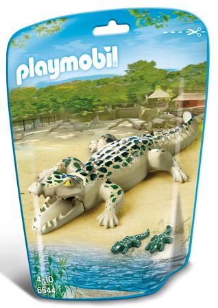 Playmobil krokodil z mladiči 6644