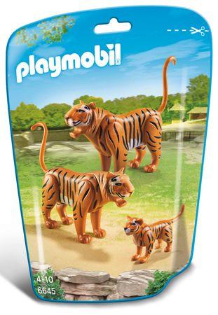 Playmobil tigrova družina 6645