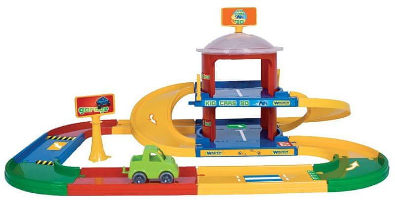 Wader Kid Cars 3D Garáž 2 patra