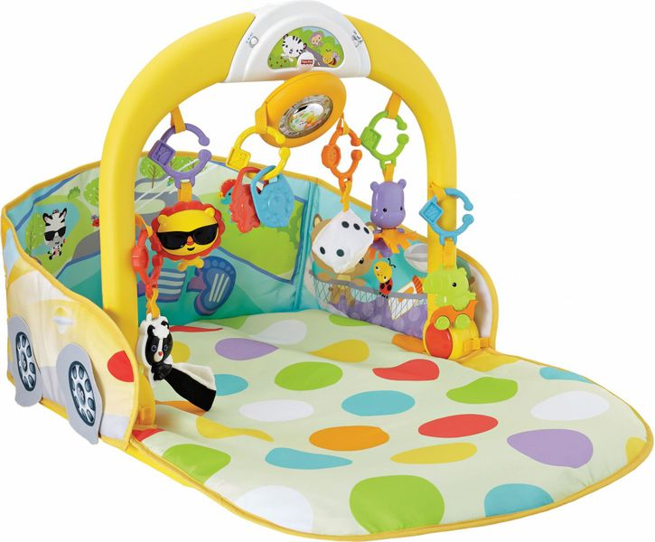 Fisher-Price Hrací dečka autíčko 3v1
