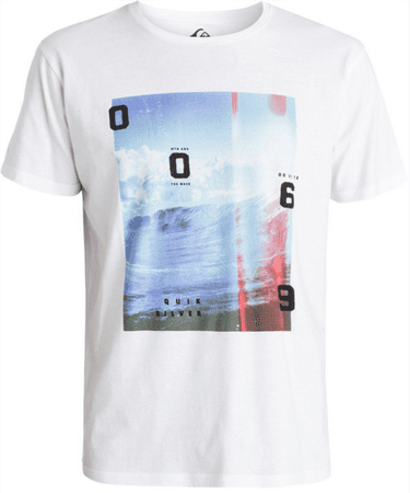 Quiksilver TEE MW MIX UP M TEES WBB0 L fehér
