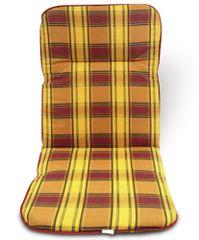 V-Garden poduszka na krzesło 87x50, kratka