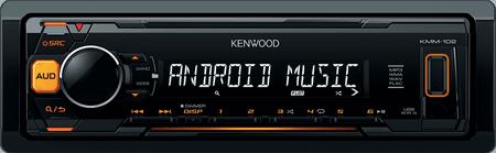 Kenwood Electronics KMM-102AY Autórádió