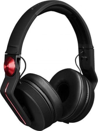 Pioneer slušalke HDJ-700 rdeča
