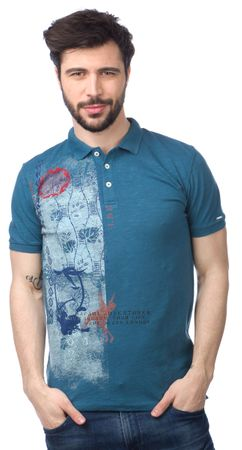 Pepe Jeans moška polo majica Musa M modra