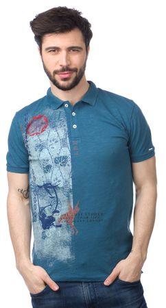 Pepe Jeans moška polo majica Musa XXL modra