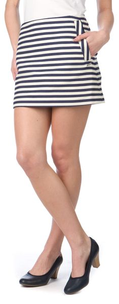 Pepe Jeans dámská sukně Bordeaux M modrá