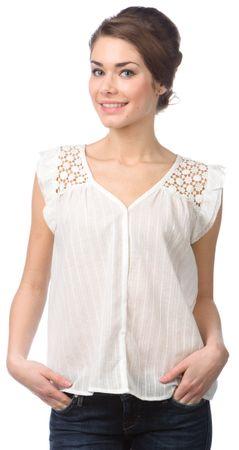 Pepe Jeans ženske bluzo Echo XL bela