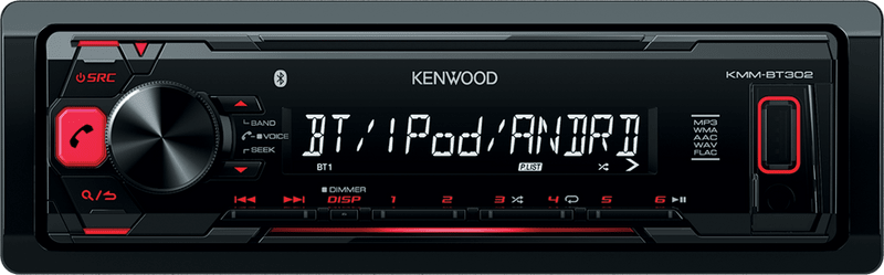Kenwood Electronics KMM-BT302