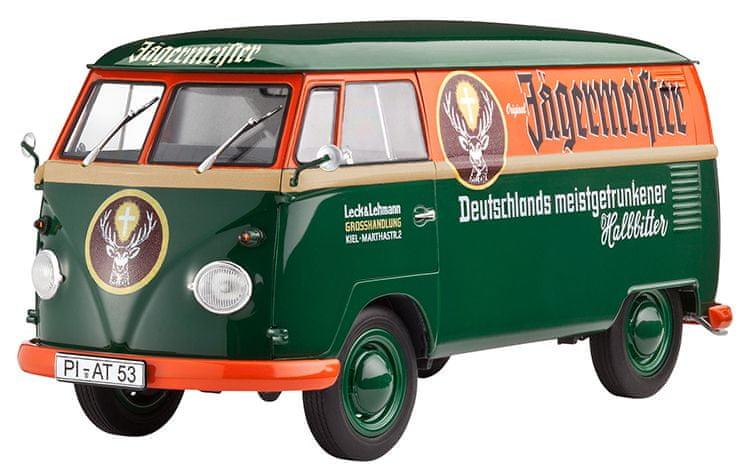 Revell ModelKit VW T1 Transporter (Kastenwagen) 1:24