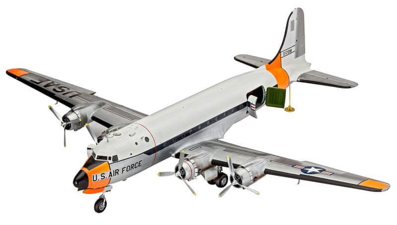 Revell ModelKit letadlo 04877 - C-54 Skymaster (1:72)