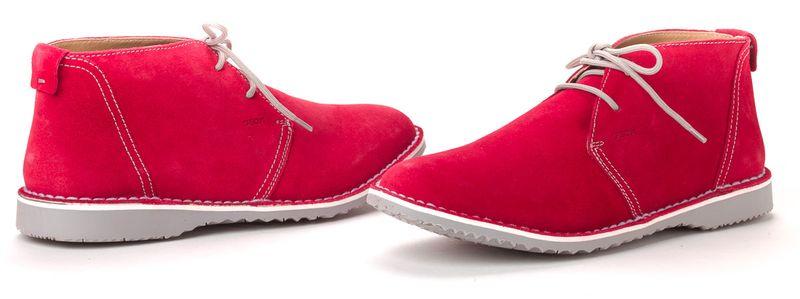Geox pánská kotníčková obuv 41 červená
