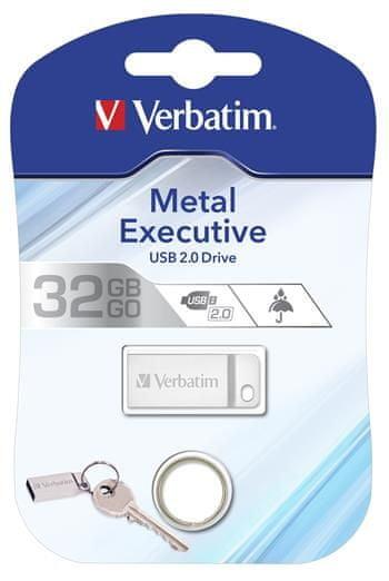 Verbatim Store 'n' go 32GB (98749), srebrny