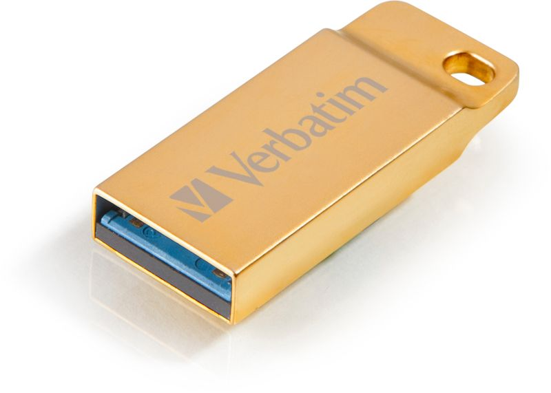 Verbatim Store 'n' go 32GB Metal Executive zlatý (99105)