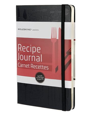 Moleskine dnevnik Passion Recipe
