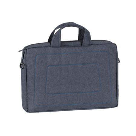 """RivaCase torbica za prenosnike 7530, do 39,62 cm (15,6""""), temno siva"""
