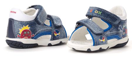 Geox fantovski sandali 22 modra