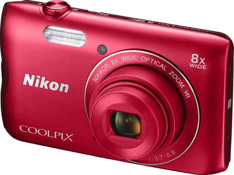 Nikon Coolpix A300 Red