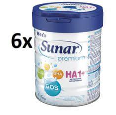 Sunar Premium HA 1+ - 6 x 700g